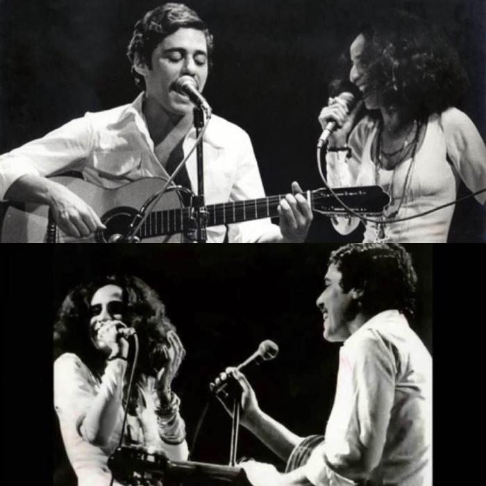 Dois artistas, dois opostos em um mesmo palco